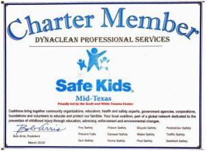 charter member safe kids