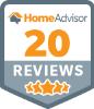 HomeAdvisor 20 Reviews