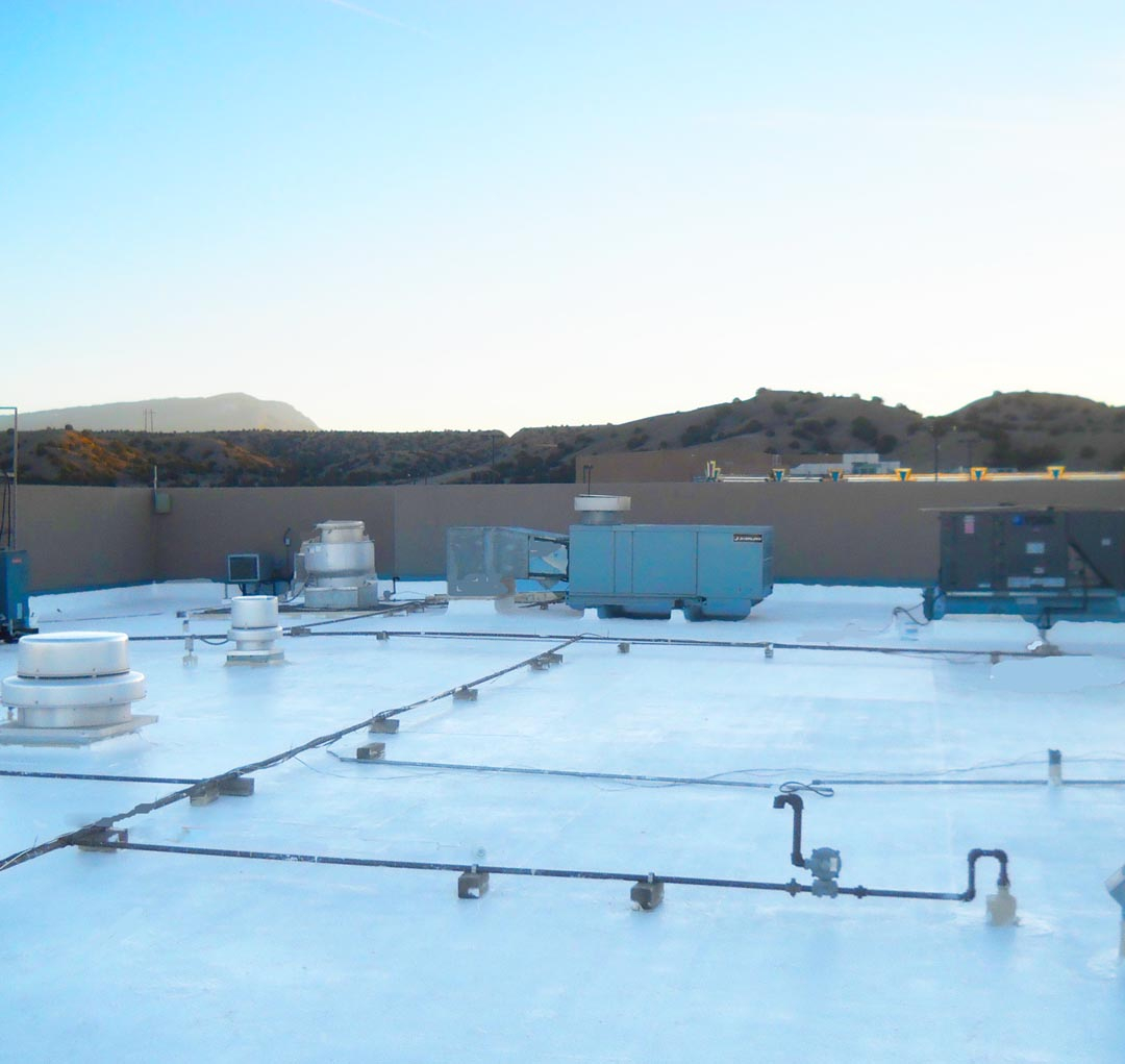 Commercial Roofing A Plus Sustainable Roofing Coatings